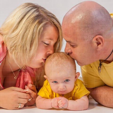 People | junge Familie